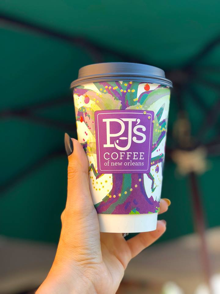 PJ's Coffee holiday cup