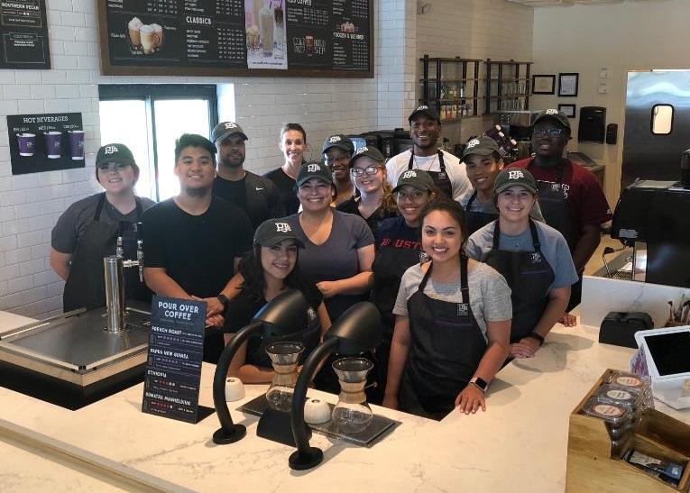 PJ's Coffee staff