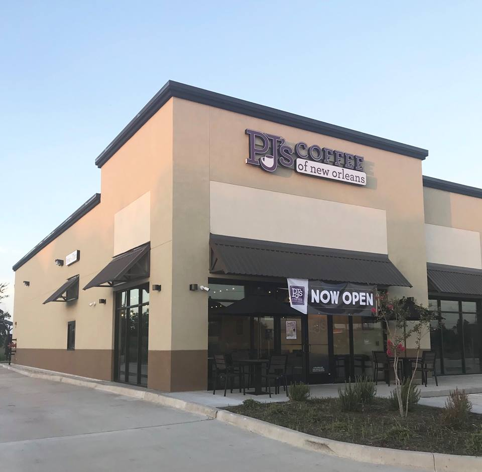 100th PJ's Coffee location in Pearland, TX
