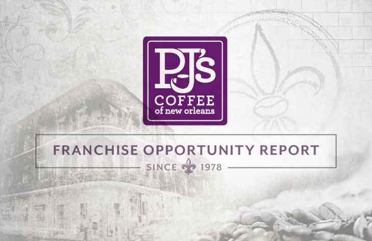 PJ's Coffee of New Orleans, Franchise Opportunity Report Since 1978