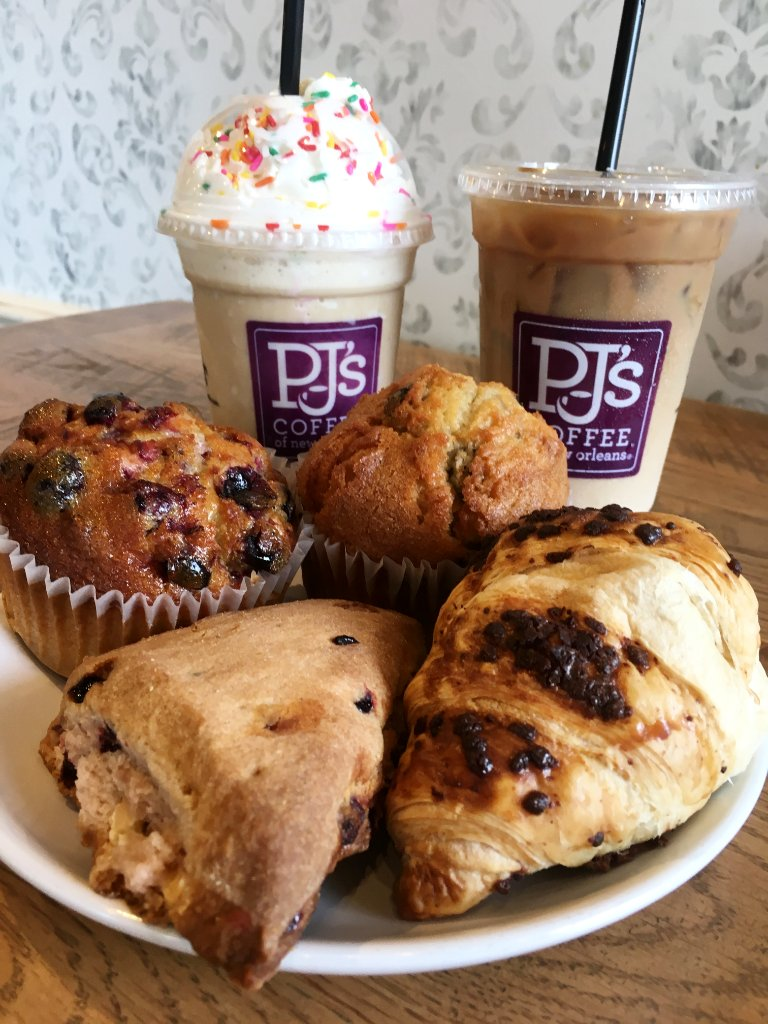 PJ's Coffee food options