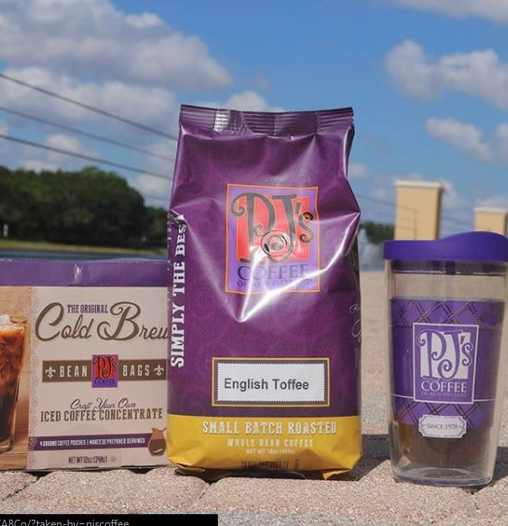PJ's Coffee retail products