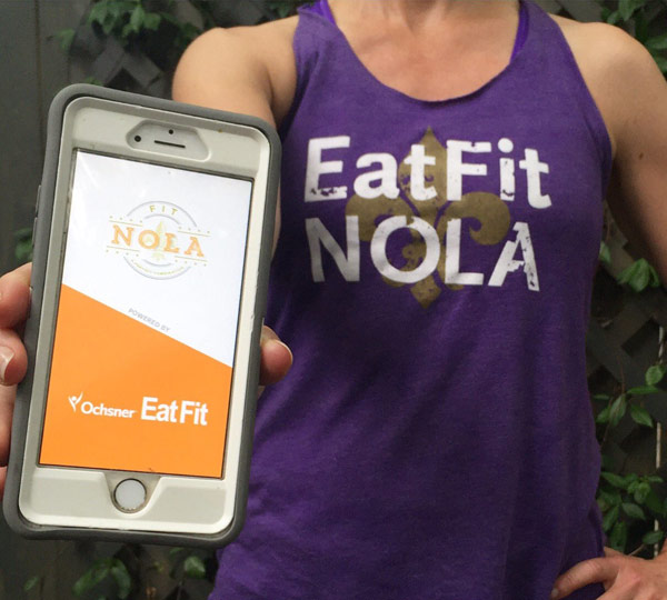 Eat Fit Nola App On iPhone