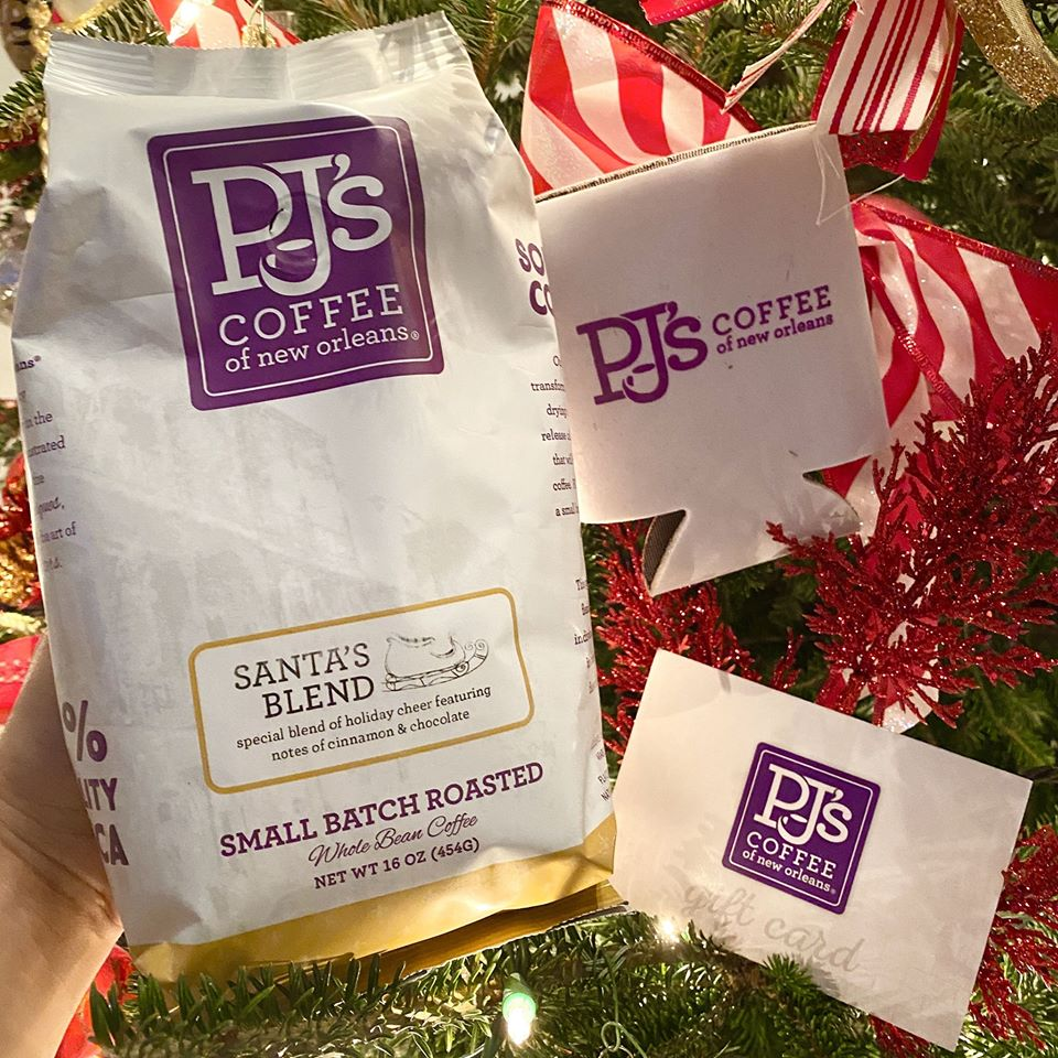 PJ's Coffee winter products and offerings